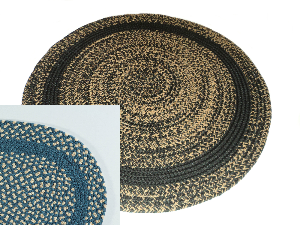 Classic Round Braided Rugs Accent With Braided Rugs And More